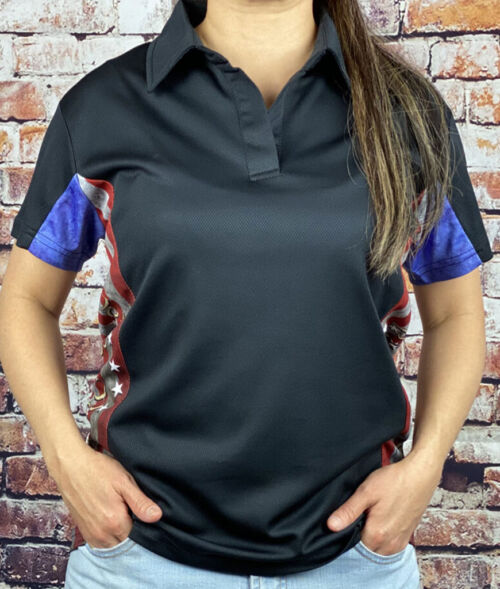 We the People Polo Shirt Womens