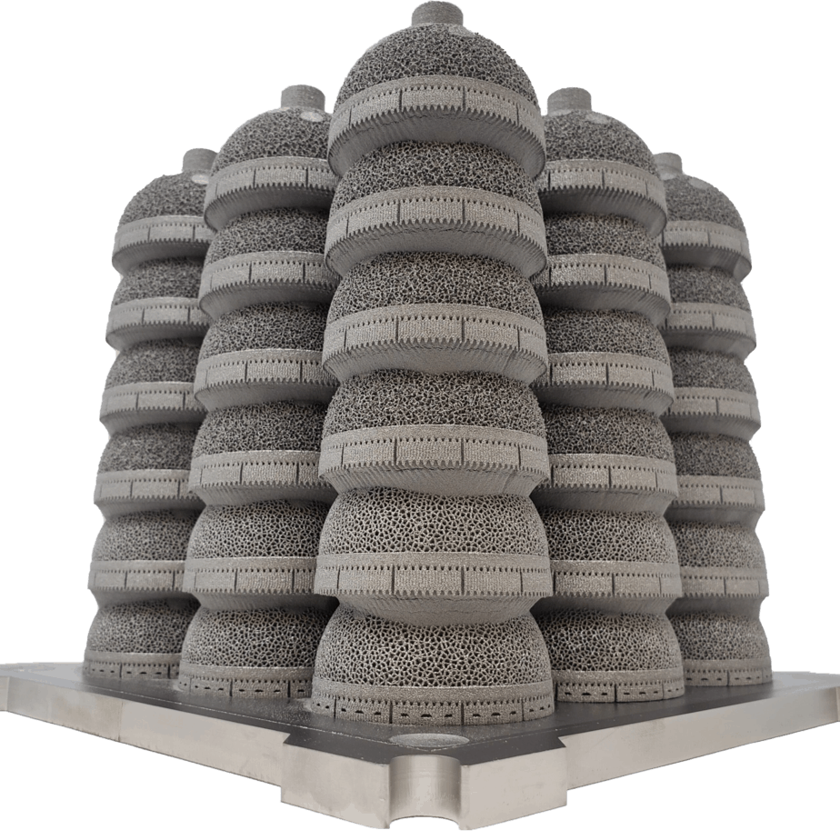 Amplify_Additive_Acetabular_Cups_Build_Plate_EBM_Additive_Manufacturing_Optimal_Stacking_Positioning_Production