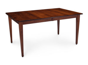Shenandoah Leg Table Bourbon Stain