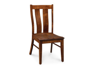 Mitchell Side Chair Soft Maple with Bourbon Stain