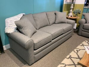 Collins Sofa in Flannel Top Secret