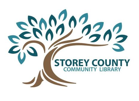 Storey County Community Library Logo