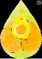 Essential Oils logo with drop