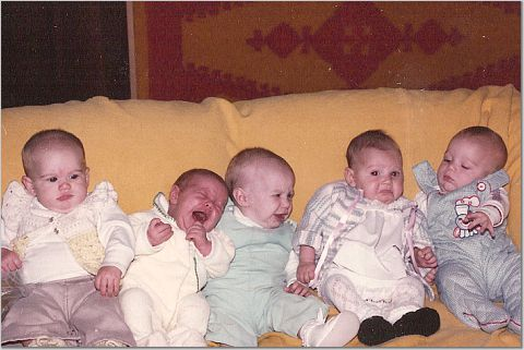 The five Marijke was one of five cousins born in one summer.