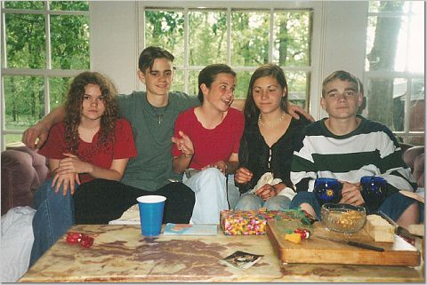 The five again, a little older