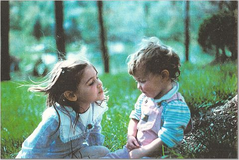 Marijke and Natalie