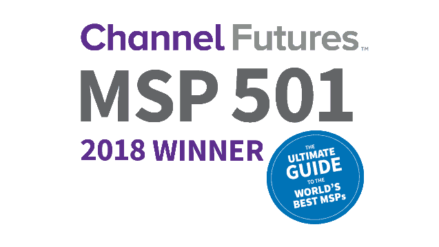 Channel futures MSP 501 2018 winner logo