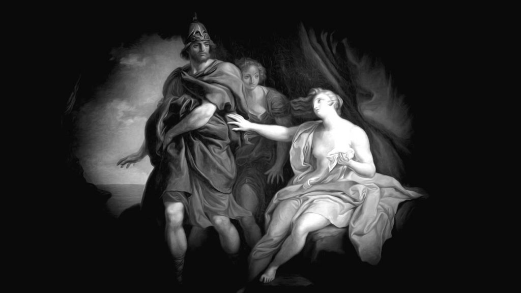 Dido and Aeneas love story