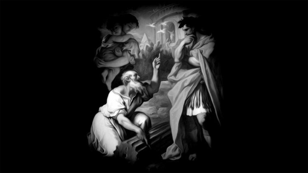 Tarquin the Elder Consulting Attus Navius
