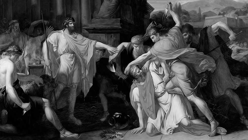 The death of Titus Tatius