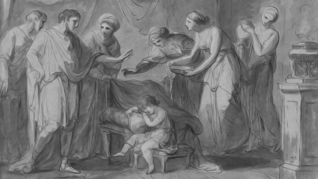 Childhood of Servius Tullius