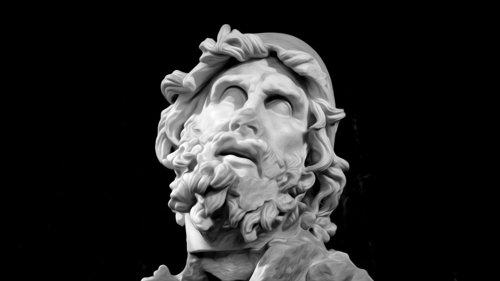 Head of Odysseus from a sculpture group found in Sperlonga