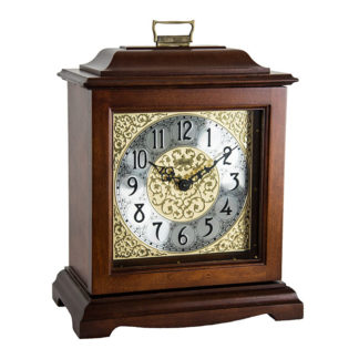 Hermle AUSTEN Cherry Quartz Mantel Clock 22518-N9Q