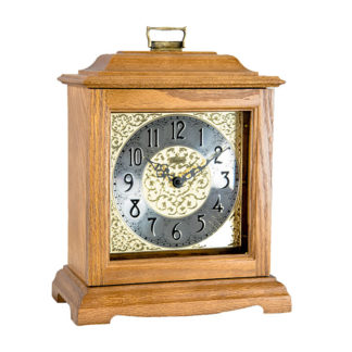 Hermle AUSTEN Oak Quartz Mantel Clock 22518-I9Q