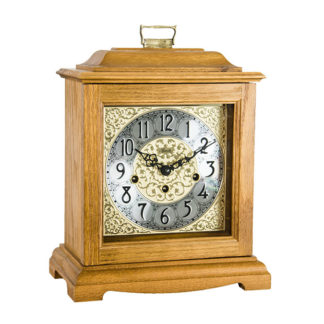 Hermle AUSTEN Oak Mechanical Mantel Clock 22518-I90340