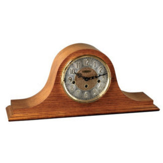 Hermle LAUREL Light Oak Mantel Clock 21134-I90340