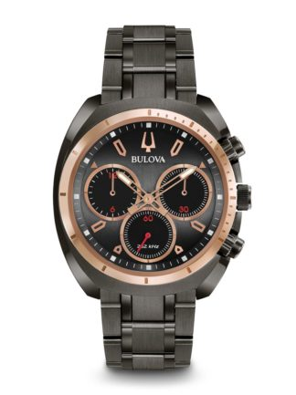 Bulova Men's Curv Chronograph Watch 98A158