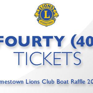 Fourty Tickets