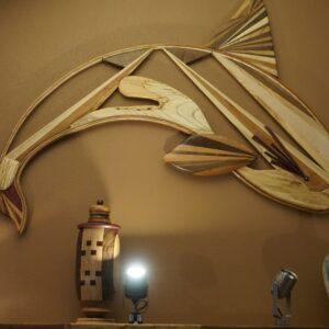Dolphin Wood Wall Art