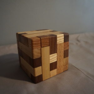 Cube Puzzle Box
