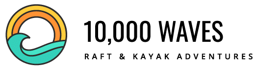 10,000 Waves Raft & Kayak Adventures Logo