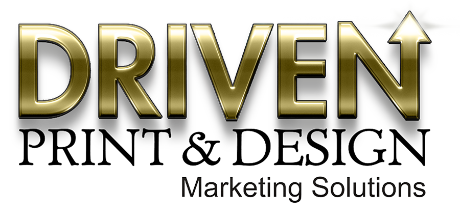DRIVEN print and design logo