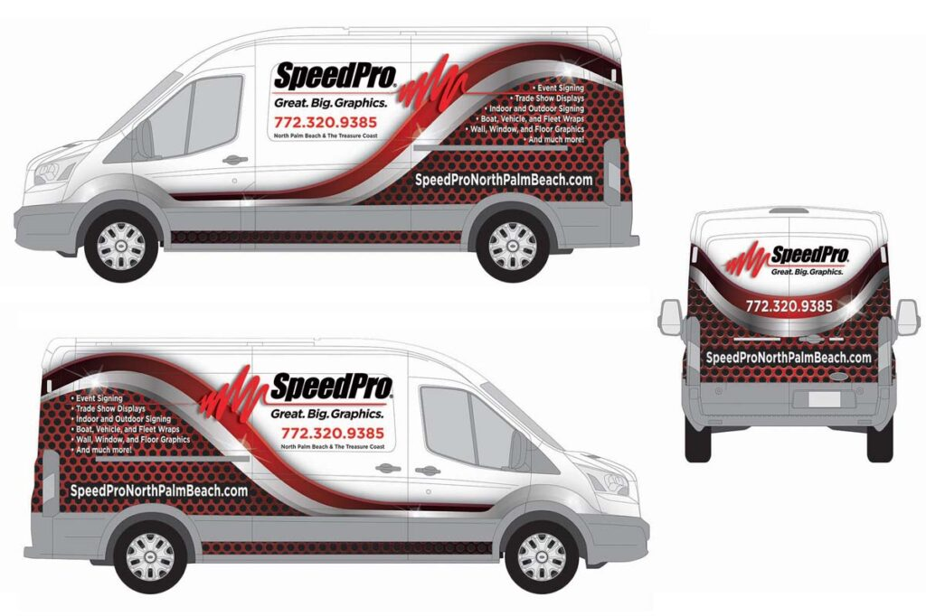 Driven Graphic Services - Vehicle Wrap Designs
