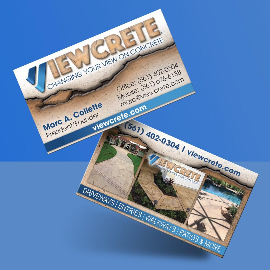 Business Card Design - Viewcrete