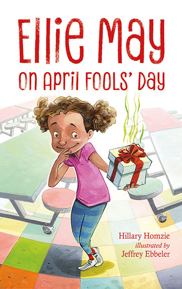 Ellie May on April Fools Day