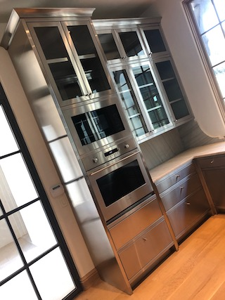 Custom Cabinets Stainless Steel