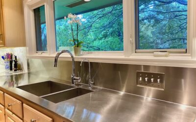 Why Stainless Steel Countertops Are A Great Choice.
