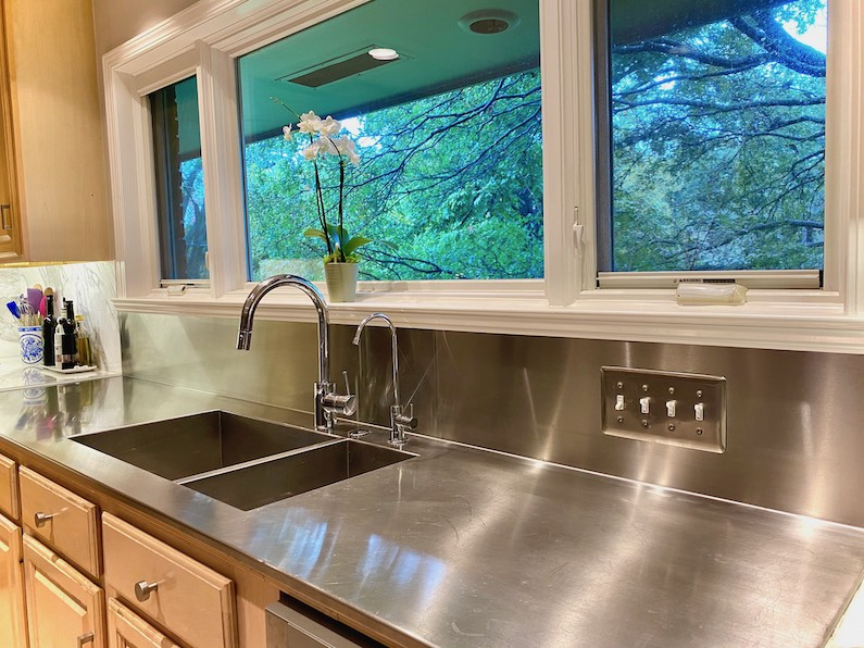 Why stainless steel countertops are a great choice