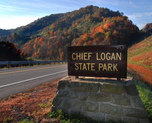 Chief Logan State Park Sign