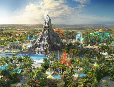 Universal Studios Orlando Volcano Bay Resort