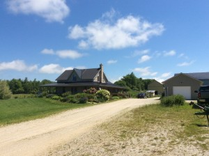 Picture of Nigel and Judy's farmhouse