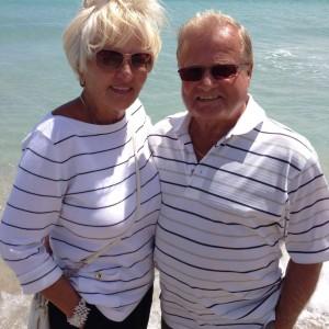 Renee and Gaetan in Florida
