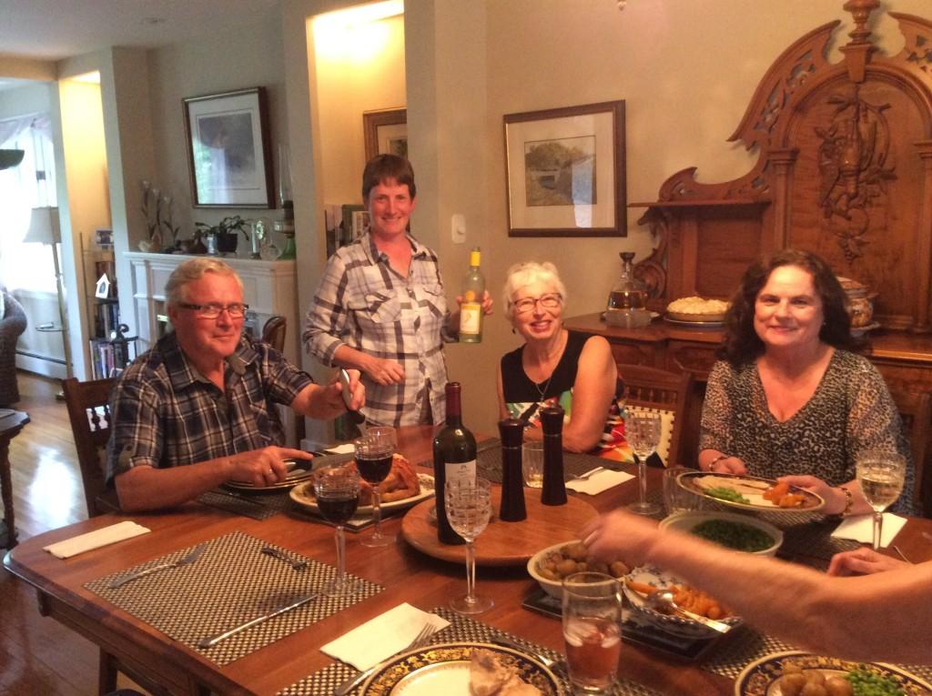 Lynn, Kim, Ruth and Cathy