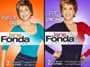 Jane Fonda's Fit & Strong DVD