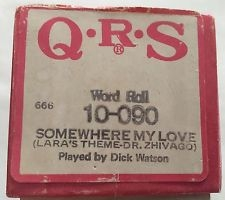 QRS Player Piano Roll