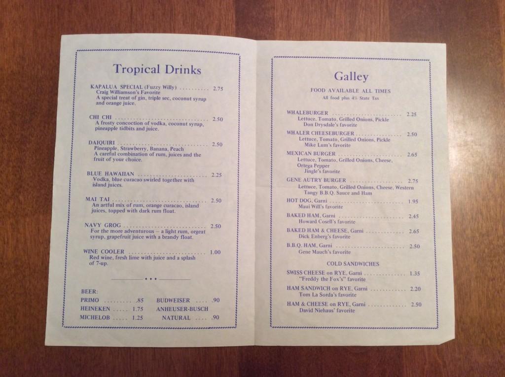 Don Drysdale's Whaler's Pub