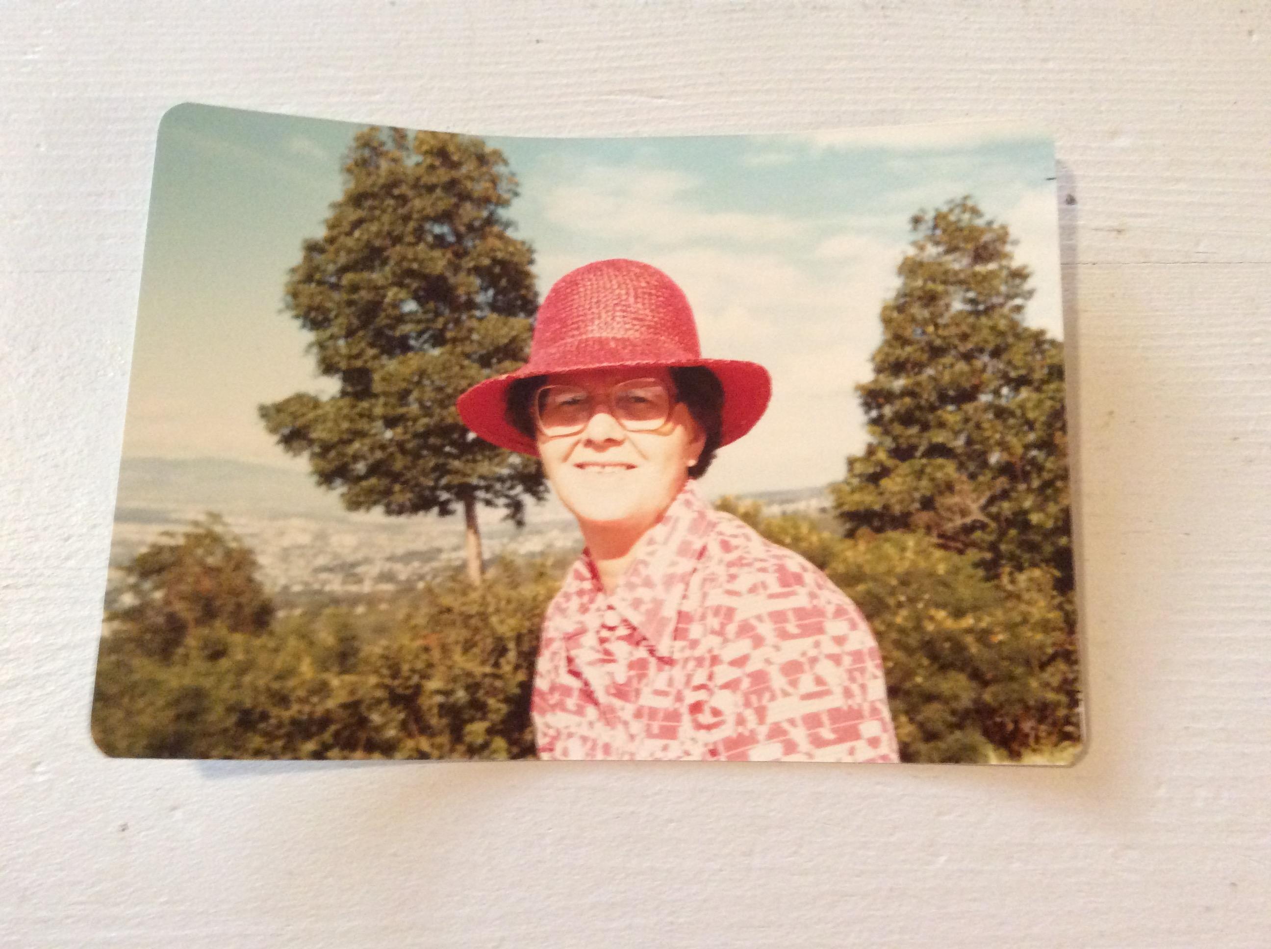 Maureen O'Shea in Hawaii, 1980
