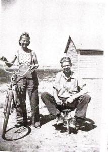 Edna and Gerald having fun!