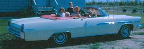 Edna in her Selling Real Estate car!