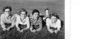 Maureen, Marjorie, Liz and Leah