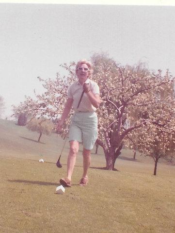 Georgie was an excellent golfer. Her handicap was an 8.
