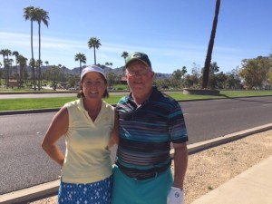 Our playing partners at McCormick Ranch