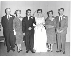 Hugh and Marcella Gordon, Doc and Maureen O'Shea. Thea and Peter Stone