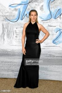 LONDON, ENGLAND - JUNE 25:  Ellie Goulding attends The Summer Party 2019, Presented By Serpentine Galleries And Chanel, at The Serpentine Gallery on June 25, 2019 in London, England. (Photo by Gareth Cattermole/Getty Images)