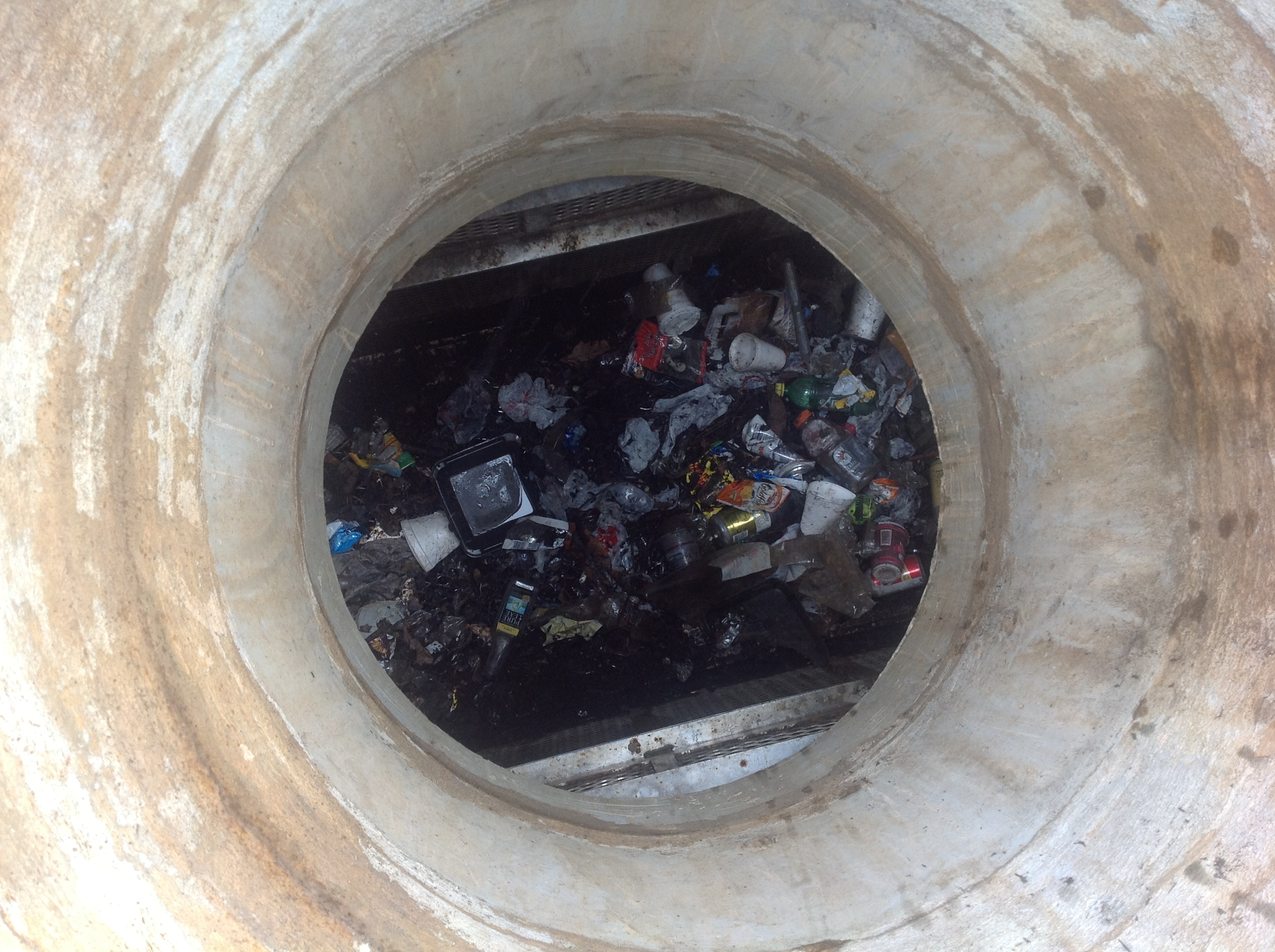 stormwater vault needs cleaning