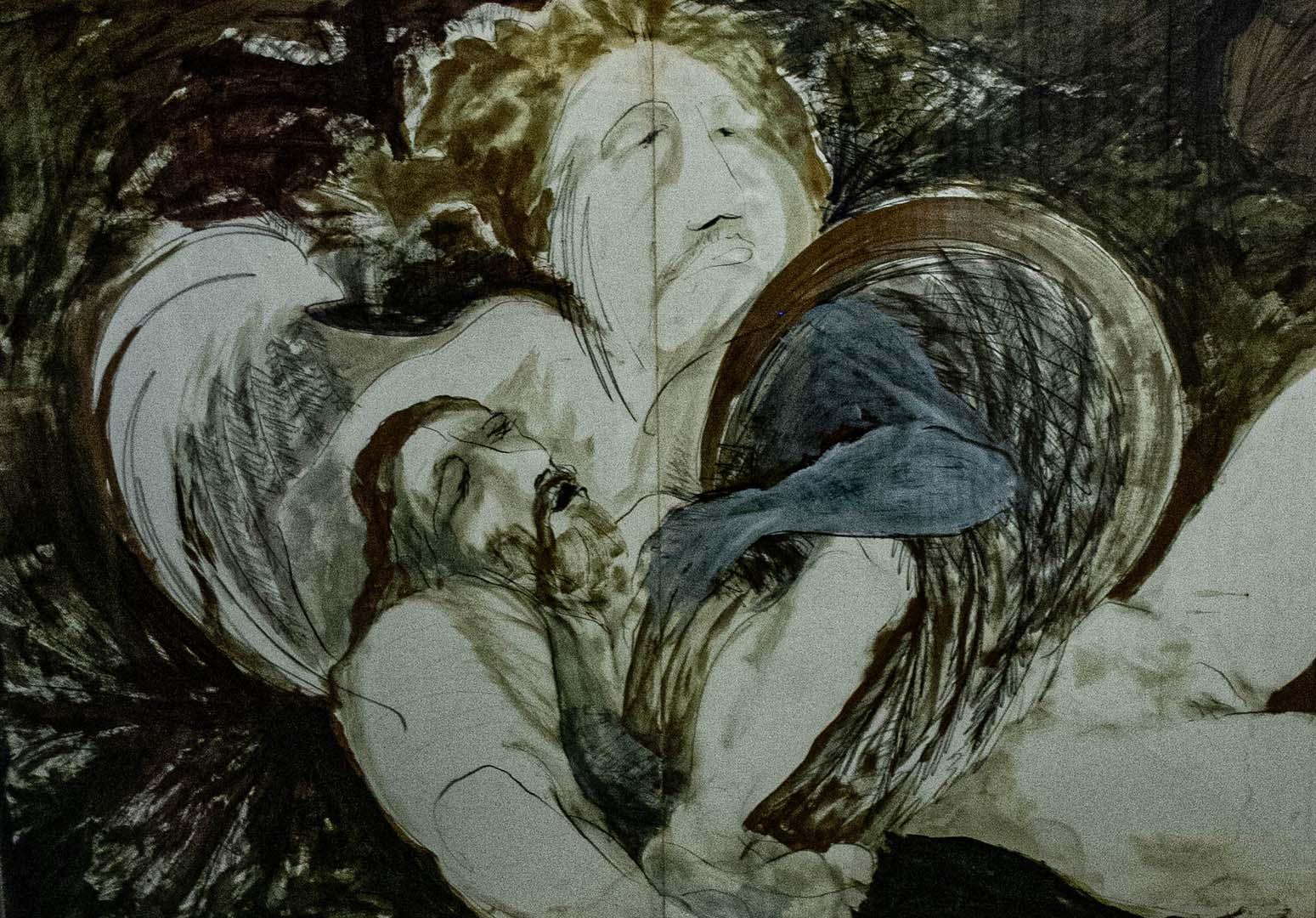 Angel and Lazarus